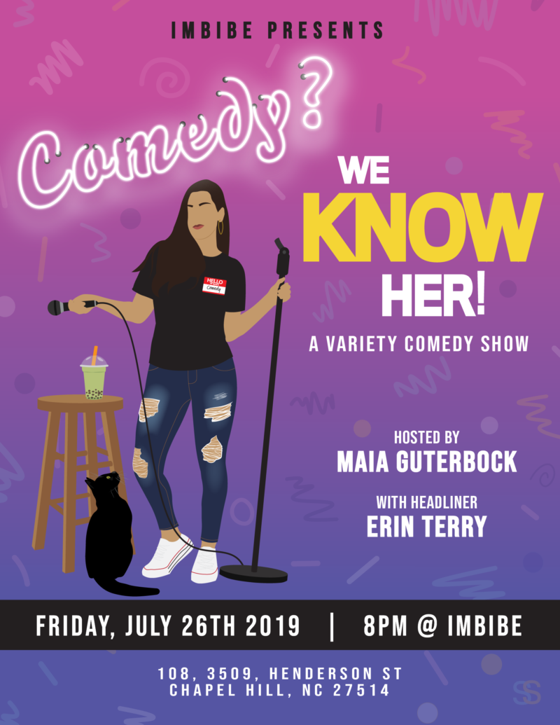 Creative Process: Comedy Show Promotional Poster