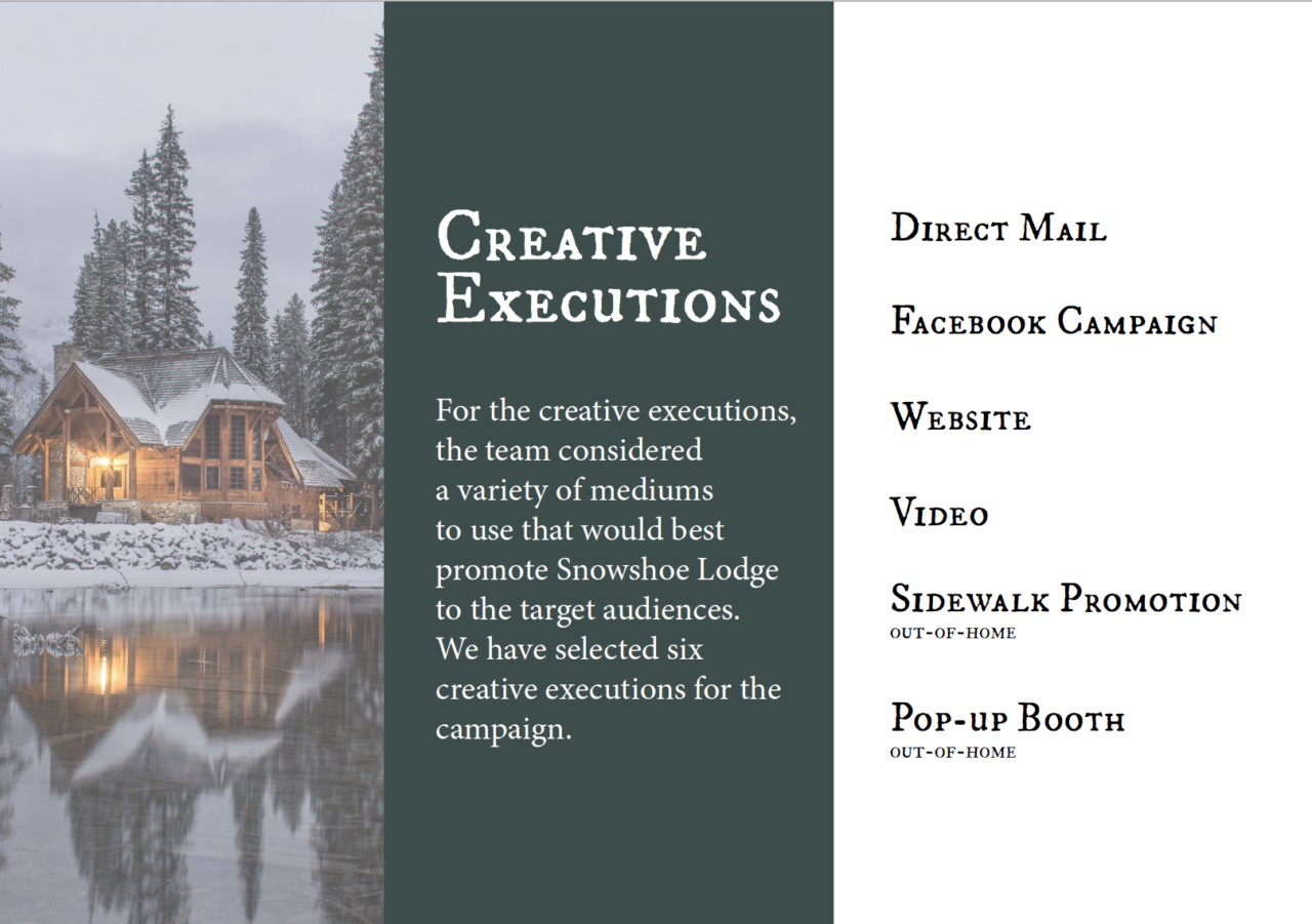 Creative Executions